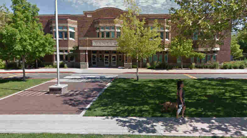 Uintah Elementary School in Salt Lake City, where up to 40 students were served lunch Tuesday — only to have it discarded. They were told they didn't have enough credit on their accounts.