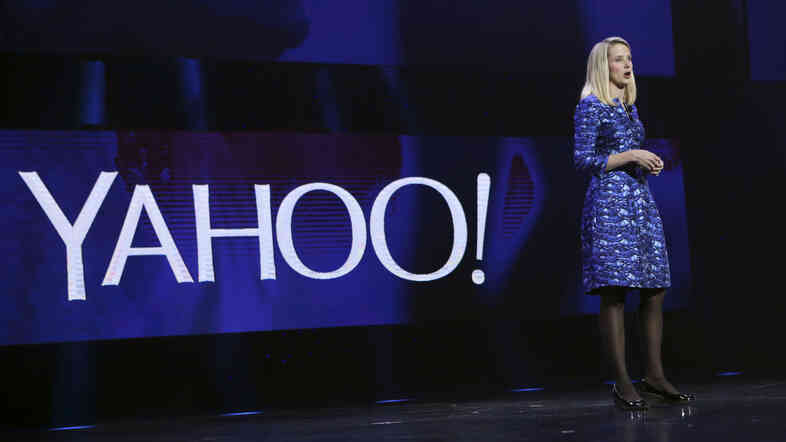 Yahoo CEO Marissa Mayer delivers the keynote address at the annual Consumer Electronics Show in Las Vegas earlier this month.