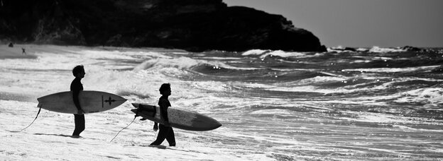 Academic pursuits: Surfers are making history.