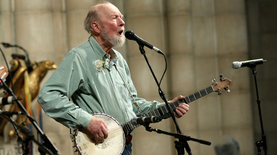 Pete Seeger in New York City. 2009. (FilmMagic)