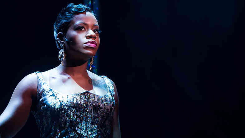 Fantasia Barrino, the American Idol winner who went on to play the lead role in Broadway's The Color Purple, was among the rotating roster of guest stars in After Midnight, a Broadway revue celebrating Harlem's legendary Cotton Club and the stars who performed there.