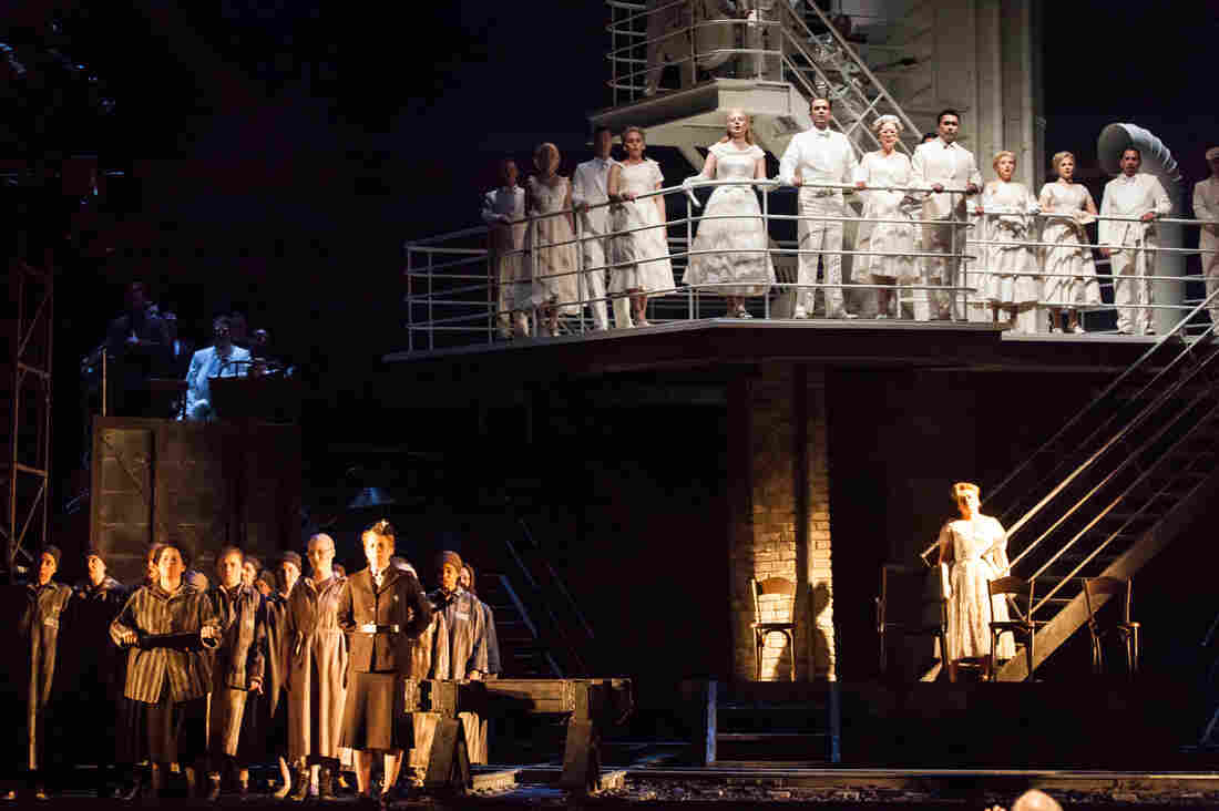 The action in The Passenger begins on the deck of a cruise ship, then ventures below deck as the characters' memories of the Holocaust surface.