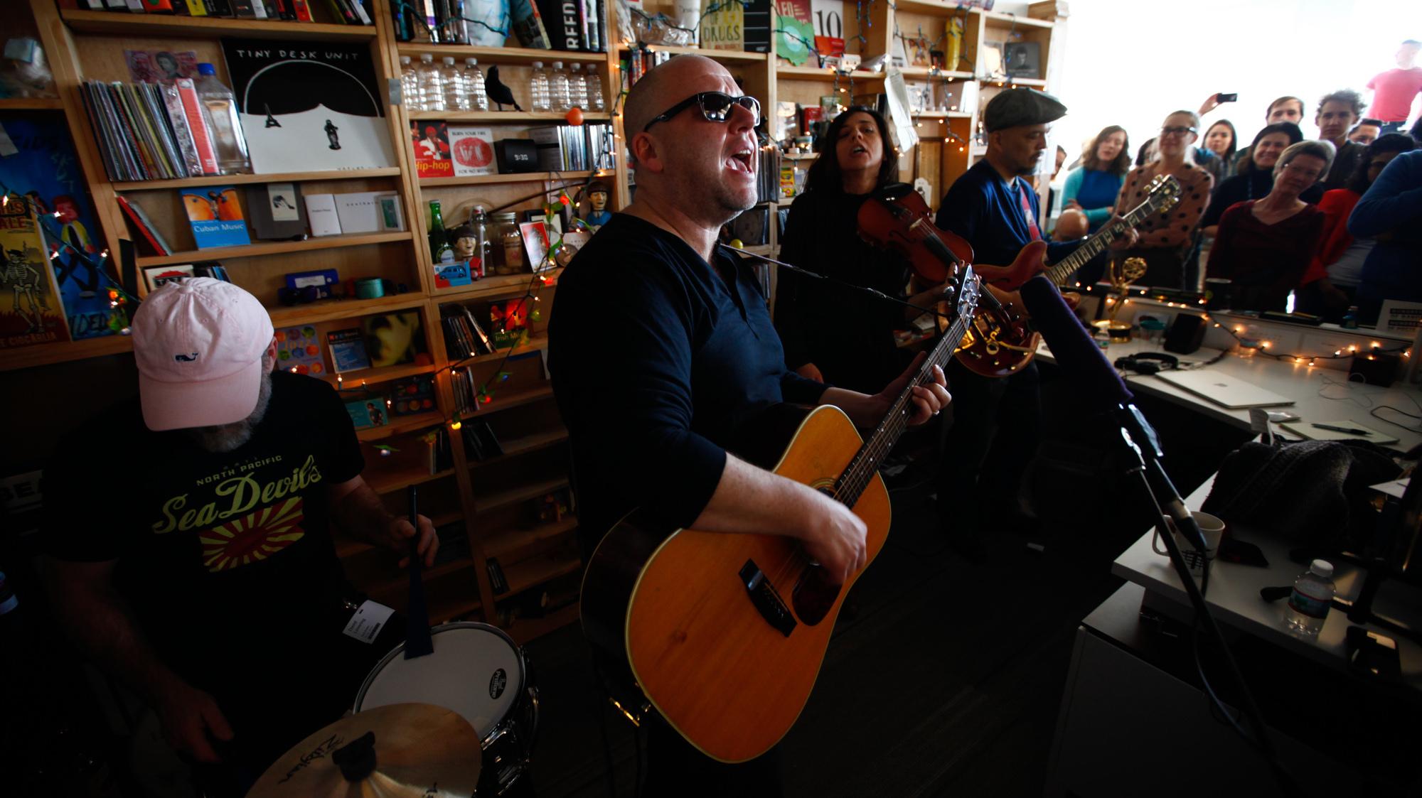 Andrea Echeverri: Pixies: Tiny Desk Concert : NPR
