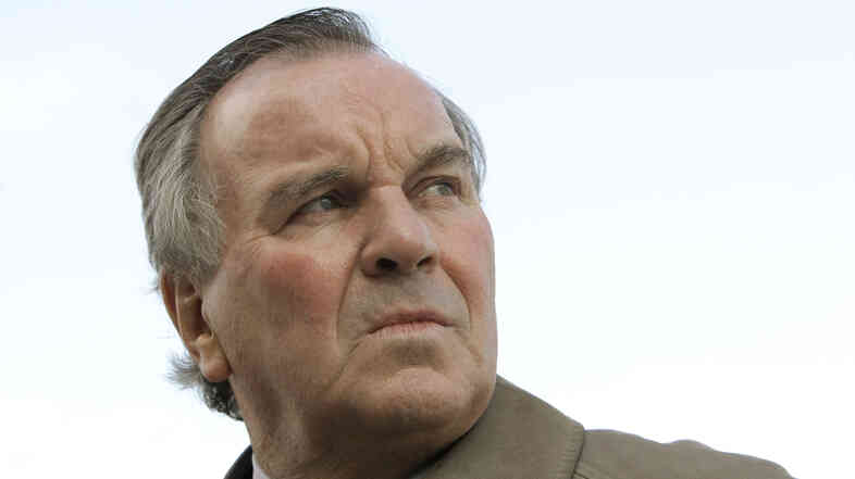Former Chicago Mayor Richard Daley, seen here in 2009, was hospitalized Saturday after feeling ill returning from a business trip.