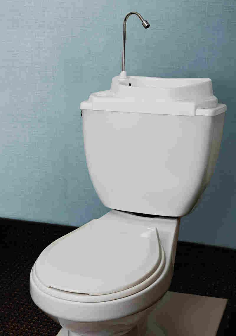 SinkPositive's eco-friendly sink/toilet hybrids decrease water waste.