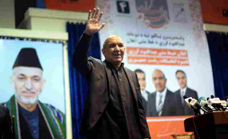 Afghan presidential candidate Qayum Karzai is the elder brother of President Hamid Karzai, who is reaching the end of his term limit.