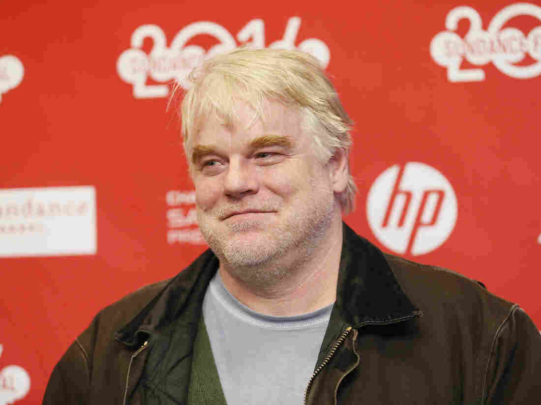 Philip Seymour Hoffman poses at the premiere of the film A Most Wanted Man during the 2014 Sundance Film Festival last month in Park City, Utah.