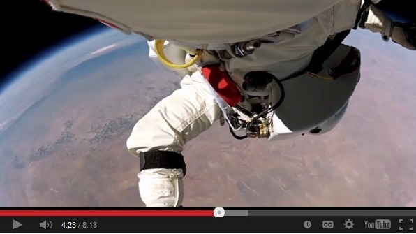 WATCH: Breathtaking New Video Of Felix Baumgartner's Record Jump