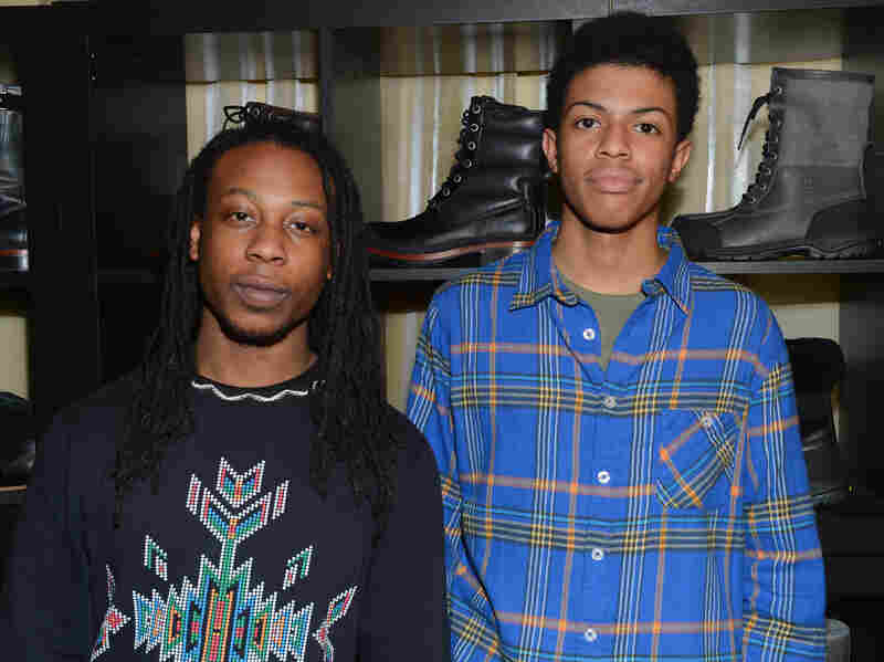 Seun Summers (left) and Idris Brewster have been best friends since before they were kindergartners. They're both college sophomores today, and their parents say each is thriving in his respective school. (Seun is at York College, part of The City University of New York; Idris is at Occidental College in Los Angeles.)