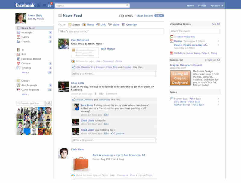 2010: Facebook reaches 500 million users.
