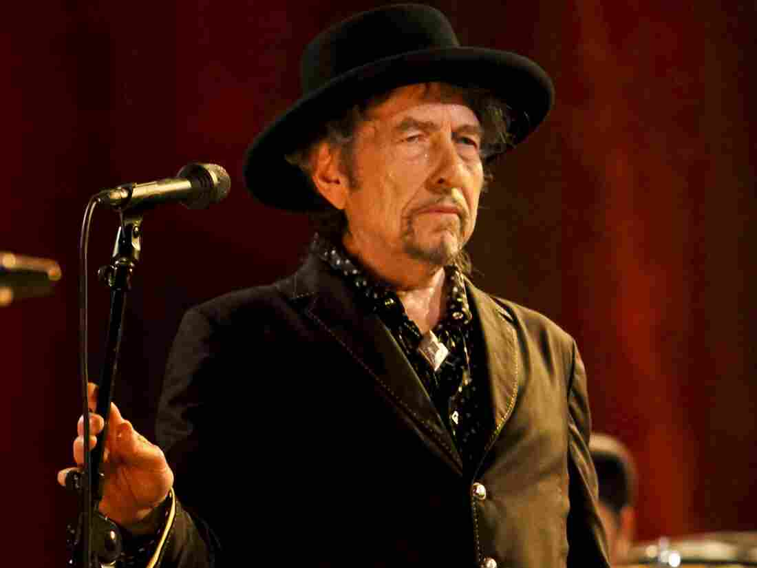 Bob Dylan performing live in 2011.