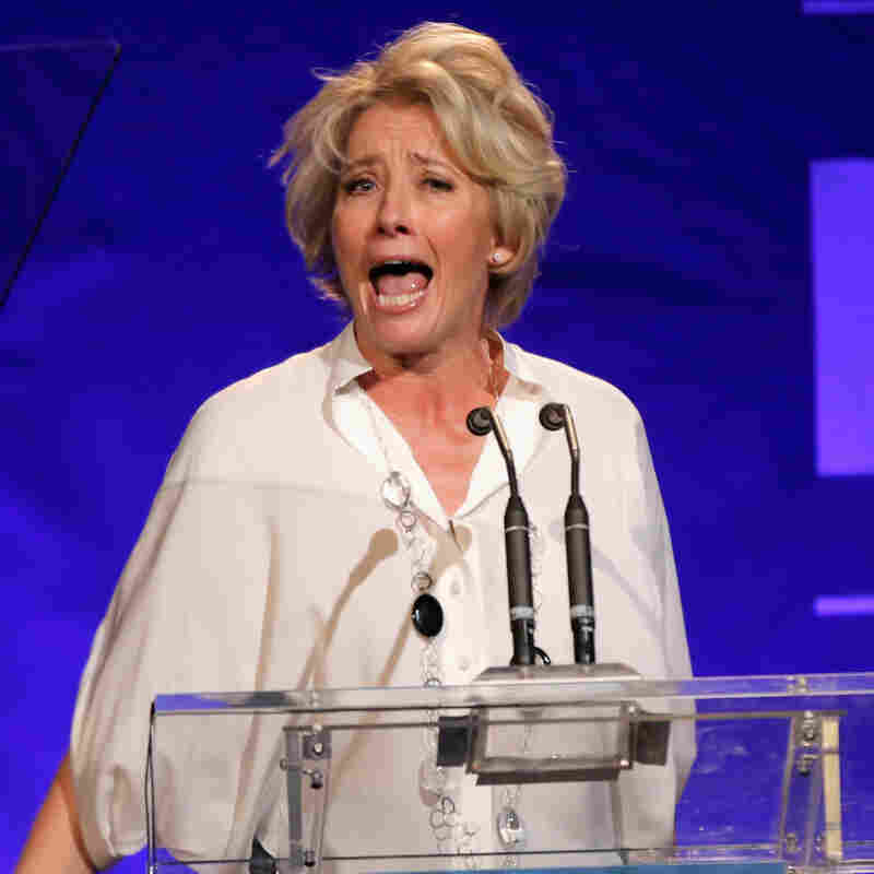 Actress Emma Thompson is one of the first to have an audio snippet of her voice included in her Wikipedia biography.