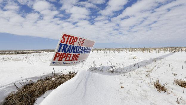 The proposed Keystone XL pipeline will run through this field near Bradshaw, Neb. (AP)