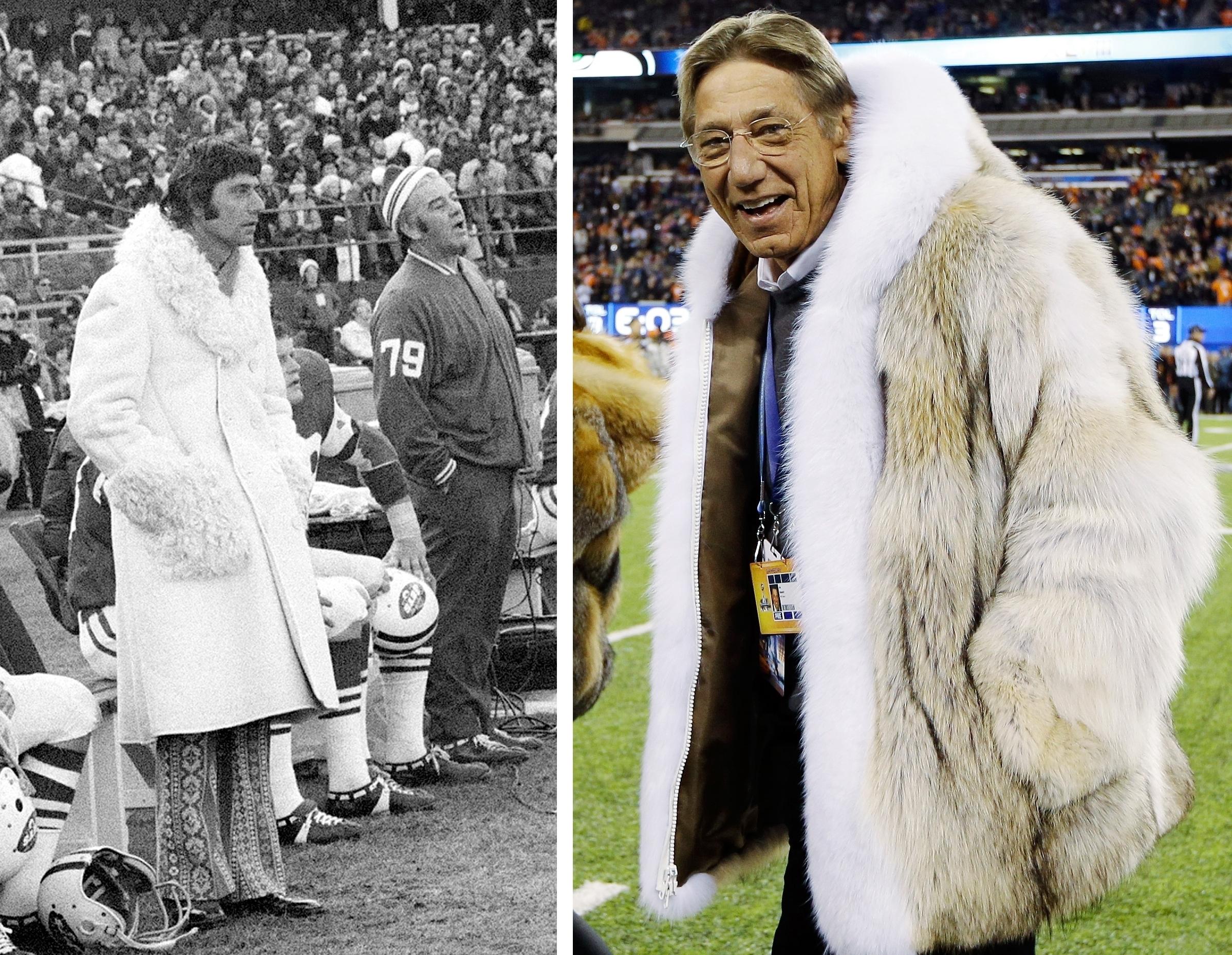 Joe Namath's Fur Coat: Nothing New, But It's A Talker | NCPR News