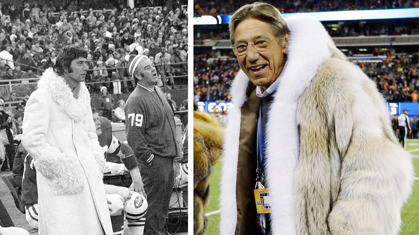 Joe Namath's Fur Coat: Nothing New, But It's A Talker : The Two ...