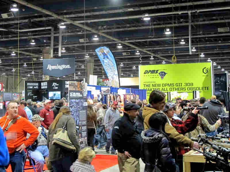 The NRA now runs the Great American Outdoor Show, but despite adding a shooting sports hall, the group says it's not a gun show.
