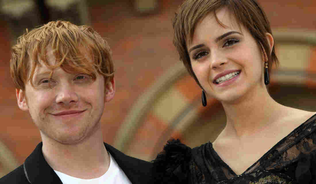 Say it Ain't So! Harry Potter author J.K. Rowling now says that beloved characters Ron Weasley and Hermione Granger, played by Rupert Grint and Emma Watson (seen in 2011), shouldn't have wound up together.