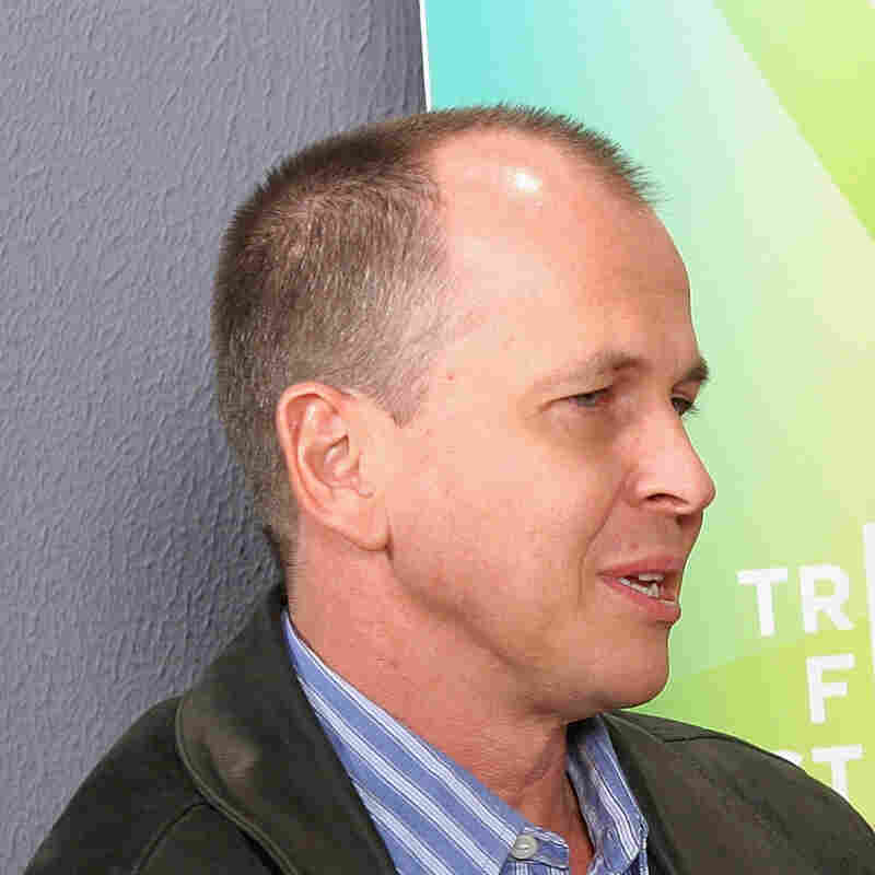 Peter Greste, an Al Jazeera English journalist shown here in a 2005 interview, has been jailed in Egypt for more than a month. He and other imprisoned journalists and activists have written letters describing their prison conditions.