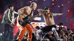 Look Ma, No Cables: Flea Cops To Playing Air Bass At The Super Bowl