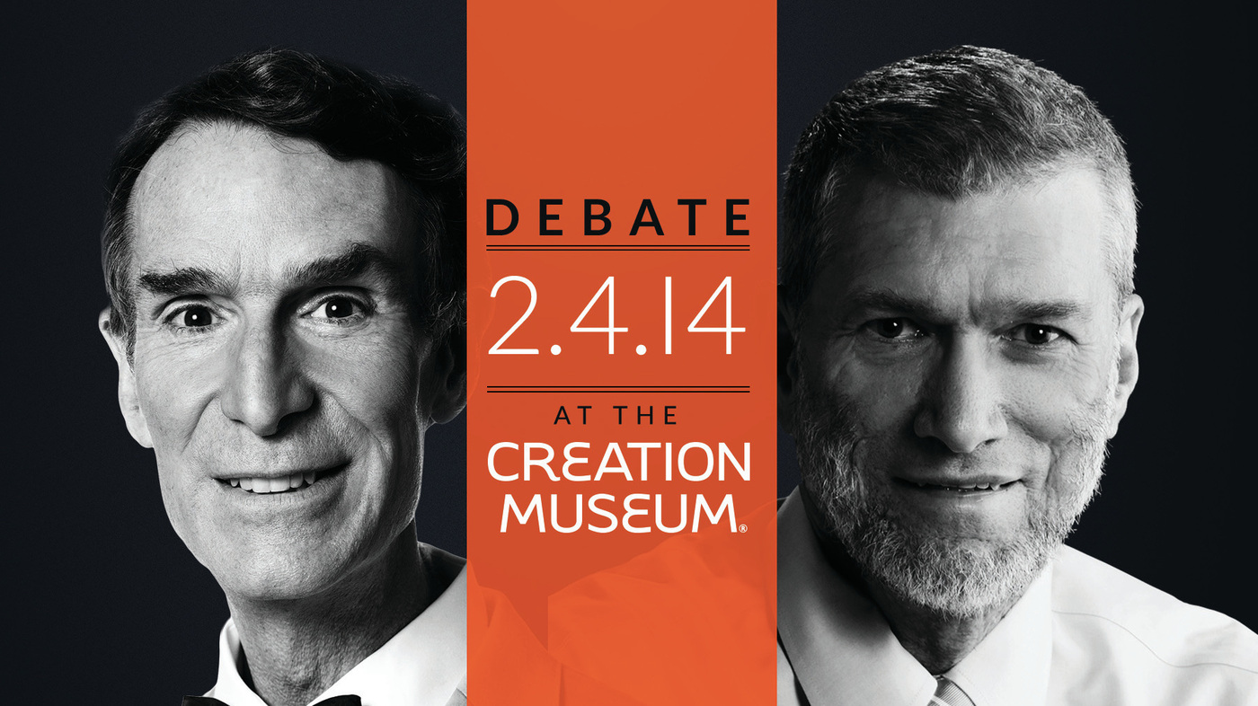 Creationism Vs. Evolution: The Debate Is Live Tonight