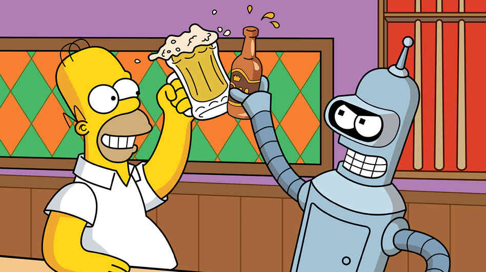 Personally, we're most looking forward to having robot drinking buddies.