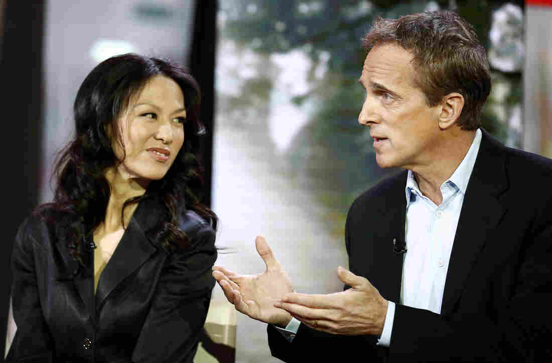 Amy Chua and Jed Rubenfeld appear on NBC News' Today show.