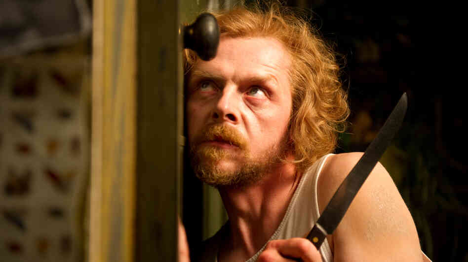 Simon Pegg (Sean of the Dead, Star Trek) plays Jack, a writer gone paranoid while working on a book about 19th-century murderers.