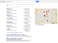 Google local search now.