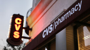 A CVS pharmacy in Orlando, Fla., is one of more than 7,600 stores where the company will stop selling tobacco products by October.