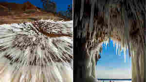 'Almost Otherworldly': The Sea Caves Of Lake Superior, On Ice