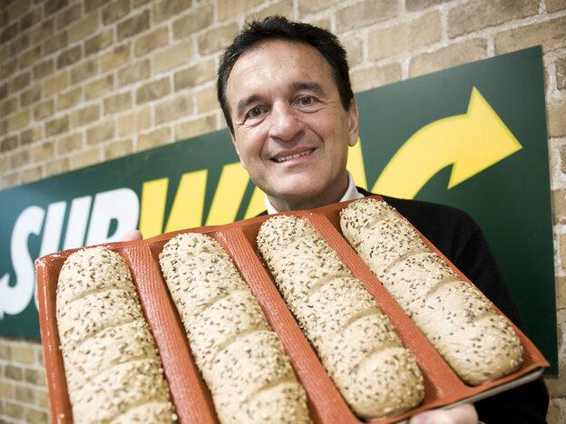 Sandwich chain Subway has anno