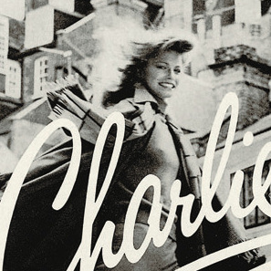 Revlon's Charlie perfume ads showed women in pantsuits strutting down the street or going out for the night.