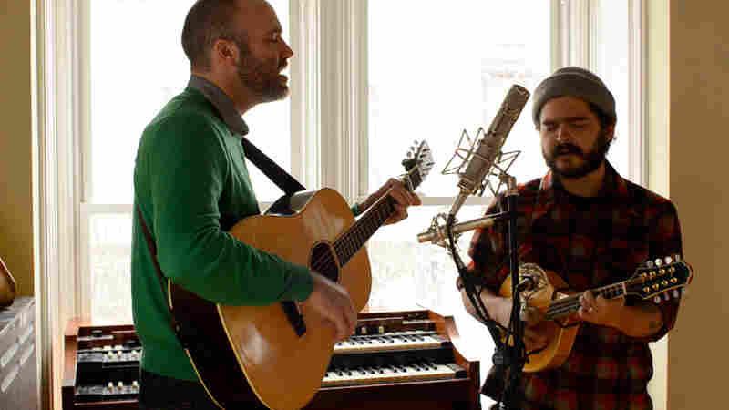 Cahalen Morrison and Eli West perform live for Folk Alley.