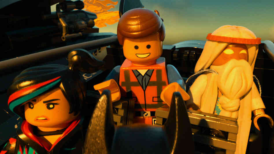 In The Lego Movie, ordinary-guy Emmet (Chris Pratt) is expected to save the world with the help of a rebellious crew that includes Wyldstyle (Elizabeth Banks) and Vitruvius (Morgan Freeman).