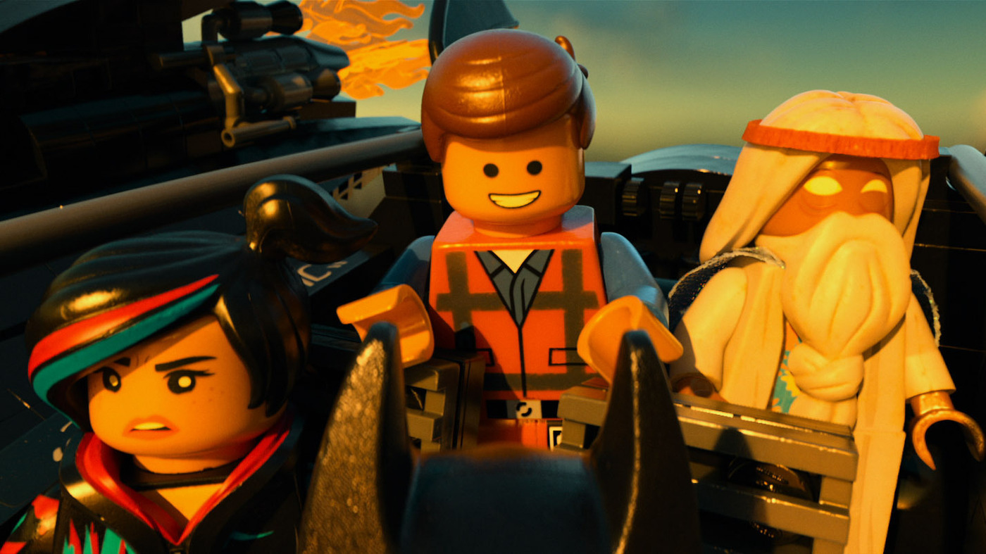 Movie Review - 'The Lego Movie' - A Goofy Toy Story That