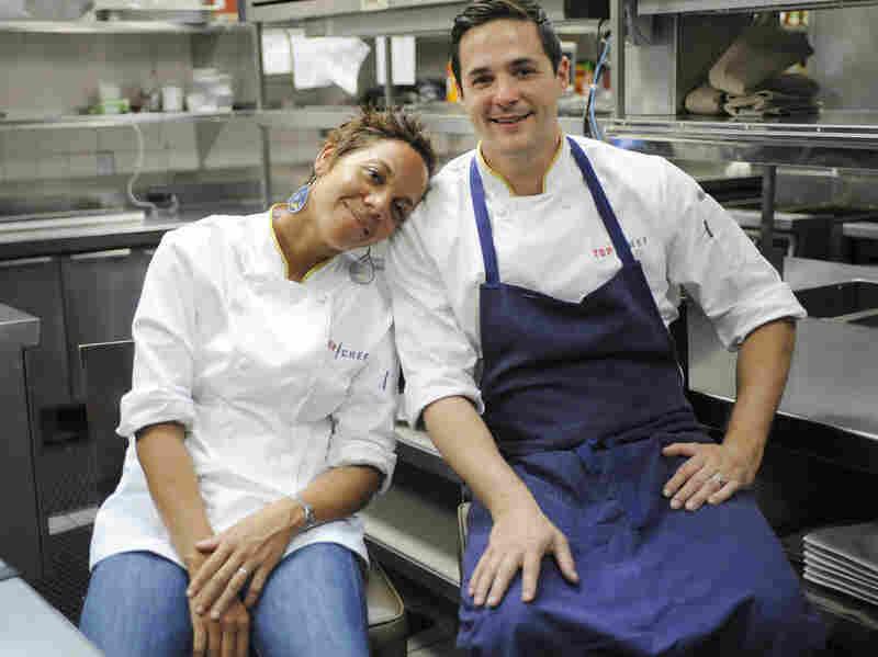In the Top Chef finale, it was Nina versus Nick.