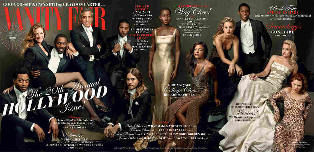 Chiwetel Edjifor (from left), Julia Roberts, Idris Elba, George Clooney, Michael B. Jordan, Jared Leto, Lupita Nyong'o, Naomie Harris, Brie Larson, Chadwick Boseman, Margot Robbie, Lea Seydoux.