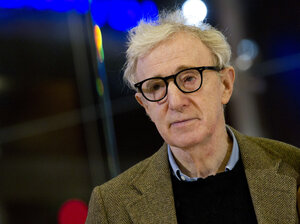 Director and actor Woody Allen poses on the red carpet in Rome in 2012. A debate is raging in the media and social media over allegations that Allen sexually abused his daughter two decades ago.