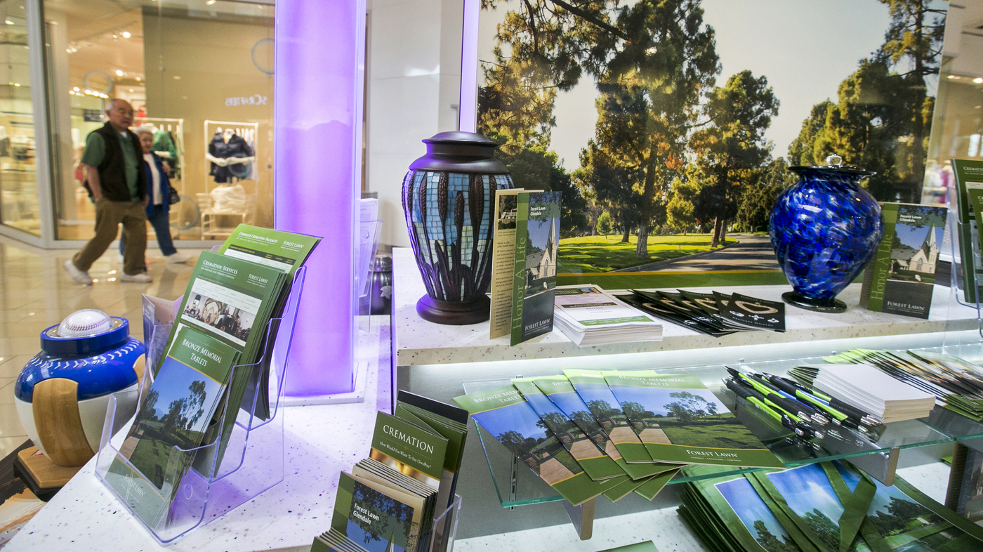 Funeral Home Kiosks Offer Shoppers The Ultimate Deal : NPR