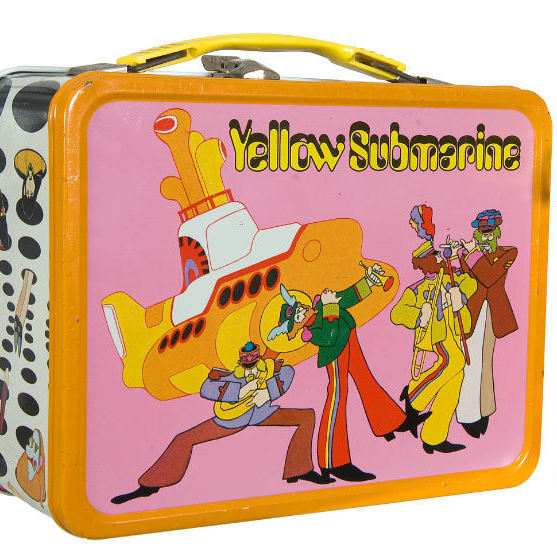 This 1968 Yellow Submarine Beatles lunchbox sold for $851.60 in 2011.