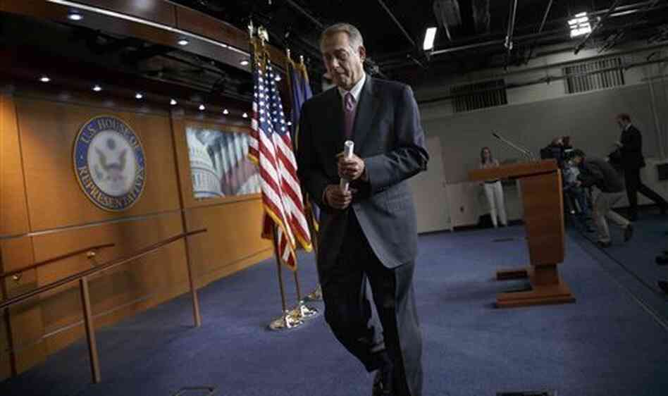 House Speaker John Boehner isn't necessarily walking away from an immigration law overhaul this year.