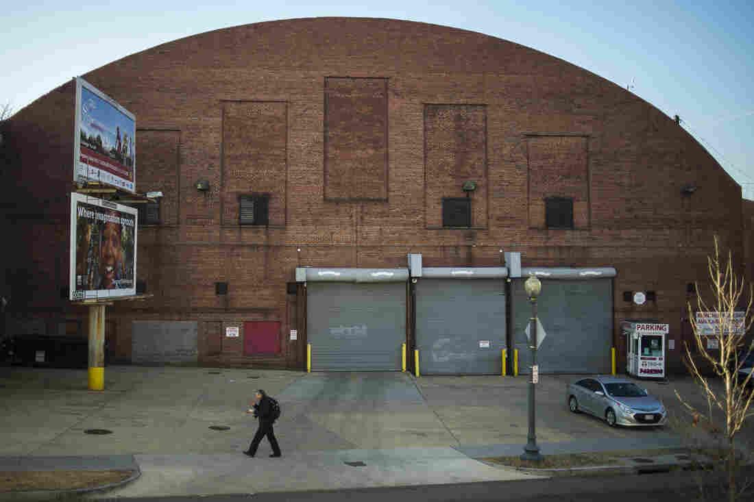 The former Washington Coliseum in Washington, D.C.