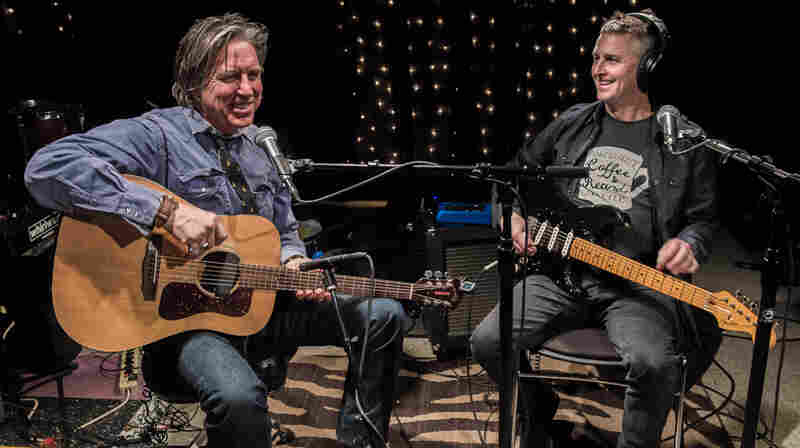 John Doe and special guest Mike McCready of Pearl Jam perform at KEXP in Seattle.