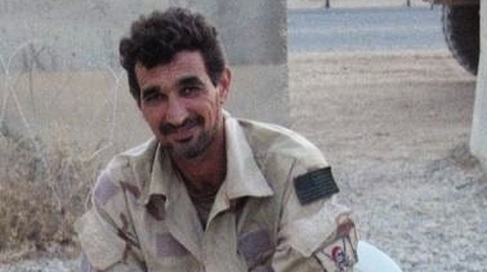 """Johnny Walker"" is the code name of the Iraqi translator who worked with U.S. Navy SEALs. (Courtesy of HarperCollins)"