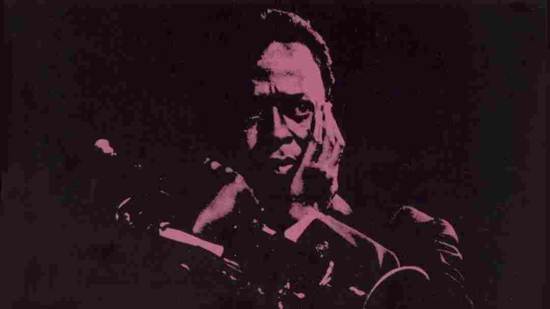 Detail from the cover of Miles Davis' Four & More. The album was one of two gleaned from a 1964 concert at Philharmonic Hall in New York.