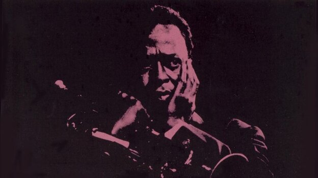 Detail from the cover of Miles