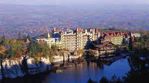 Mohonk Mountain House, a resort 90 miles north of New York City, is closed while crews sanitize the facilities after an outbreak of g