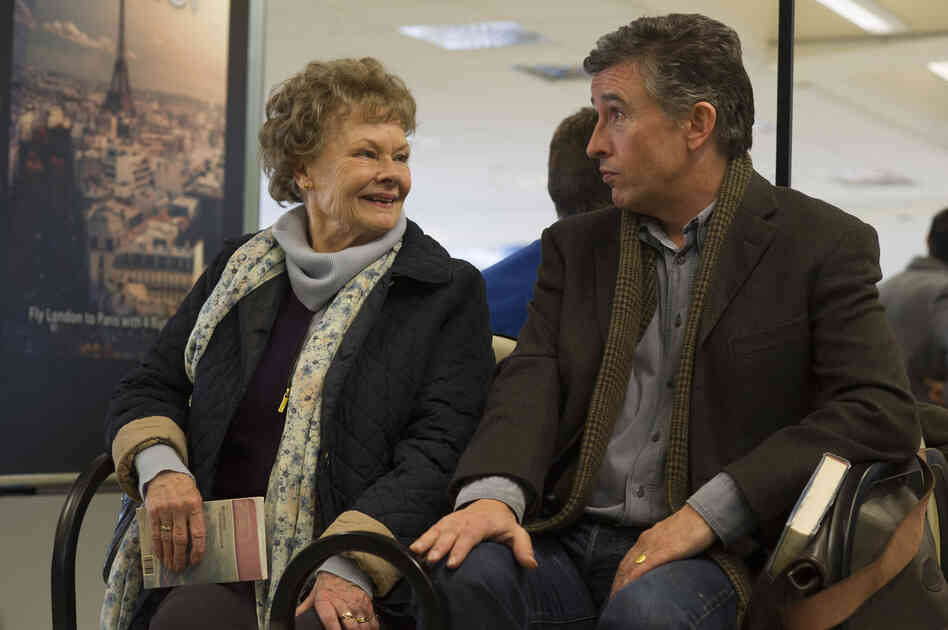 Judi Dench and Steve Coogan in the film Philomena.