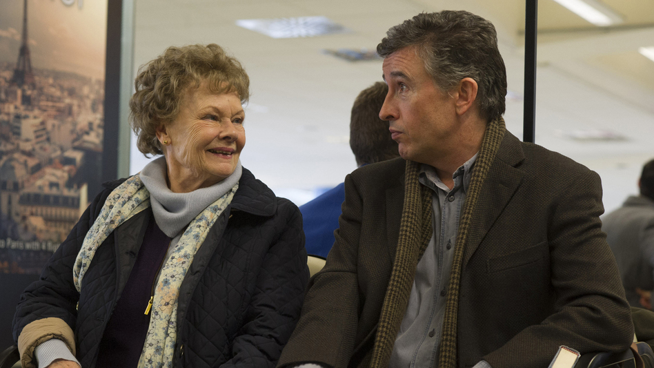 Judi Dench and Steve Coogan in the film Philomena. (Courtesy of the artist)