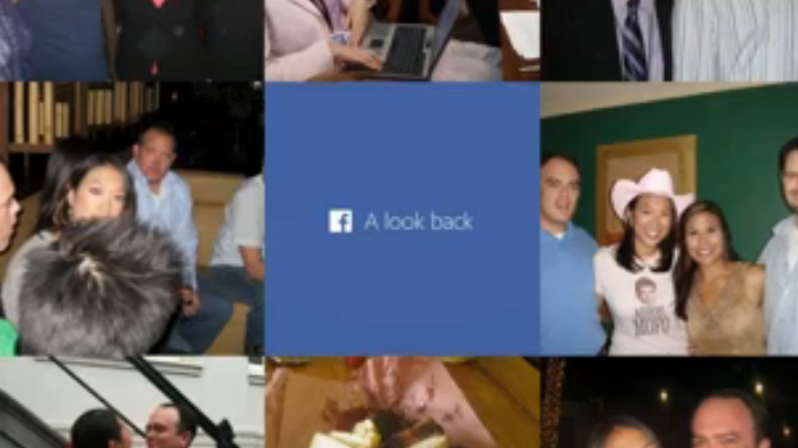 Facebook released personalized look-back videos for all its users.